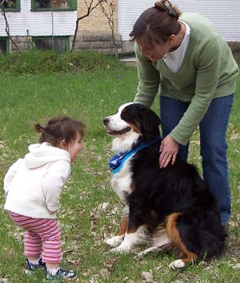 Berners and children